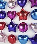Formas corazon, circulo y estrellas 18 y 36